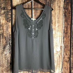 New Coldwater Creek sleeveless blouse